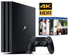 SONY PlayStation 4 Pro Region 2 CUH-7216B 1TB HDD Game Console With 10 Game in Hard